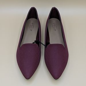 Seychelles Cardinal Perforated Pointy Flats